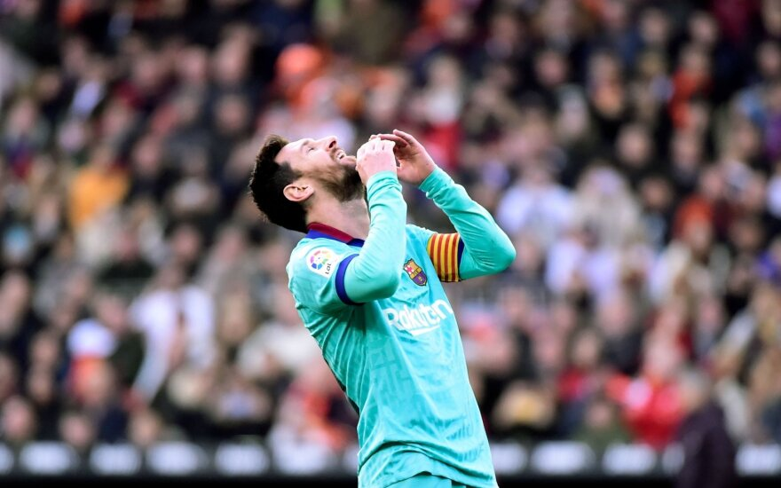 "Bedantė ""Barcelona"" su Messiu parklupdyta Valensijoje"