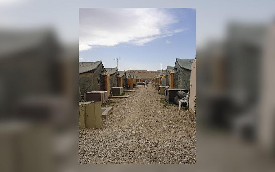 Lietuvos karių stovykla Afganistane