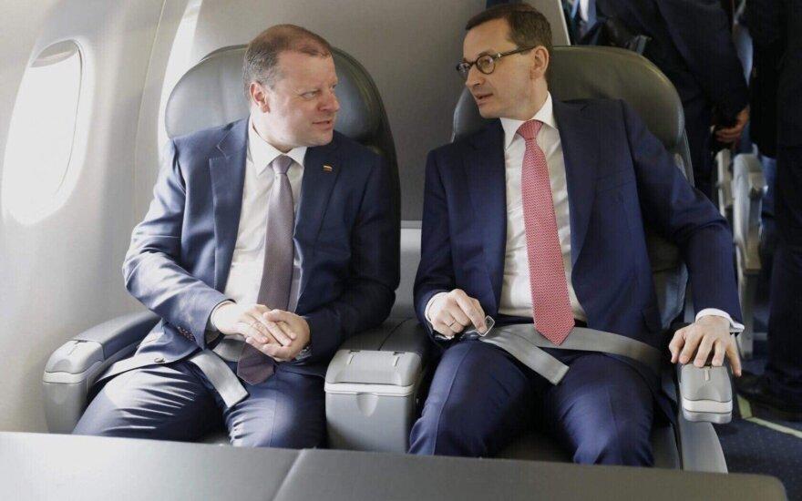 Премьер-министр Польши Литве: Запад хочет расти за наш счет