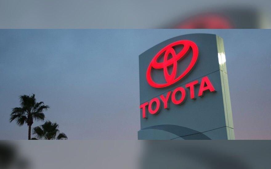 """""""Toyota"""" kitąmet 20 proc. didins gamybą"""