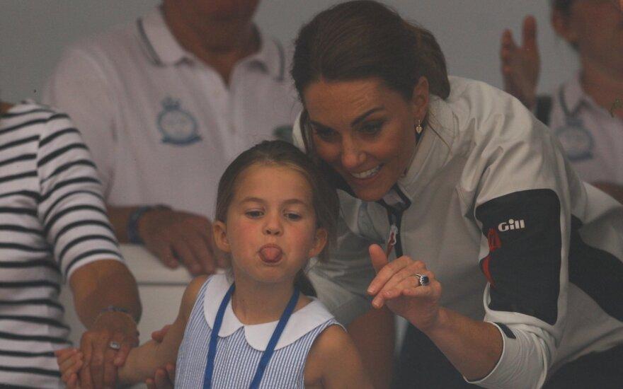 Kate Middleton ir princesė Charlotte