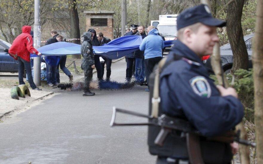 Ukrainoje mirė gegužės pradžioje sumuštas žurnalistas Vadimas Komarovas