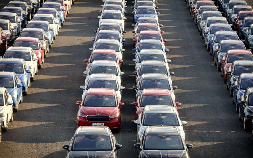 Europos automobilių rinka toliau atsigauna po pandemijos