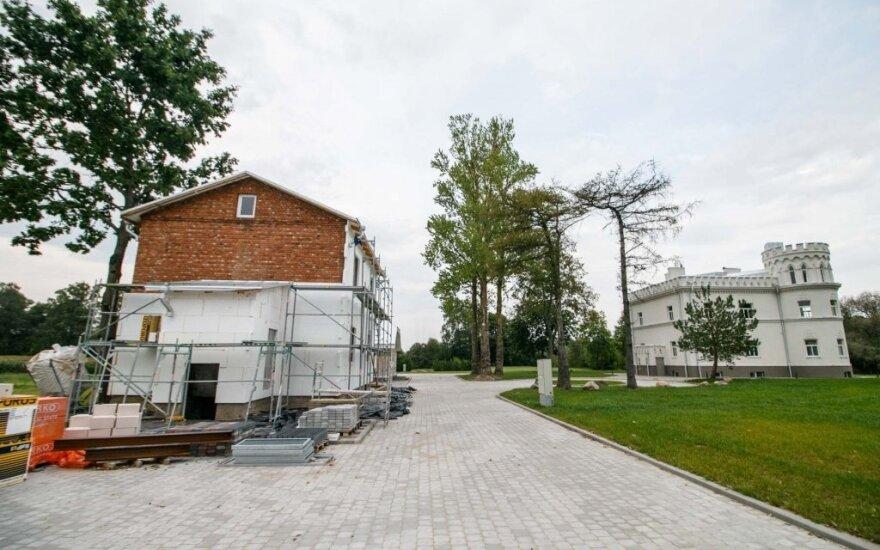Inspektoriai nustatė pažeidimų rekonstruojant Matijošaičio dvarą Kauno rajone