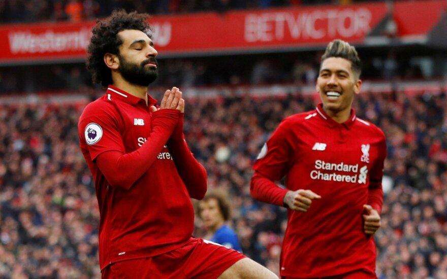 Mohamedas Salah ir Roberto Firmino