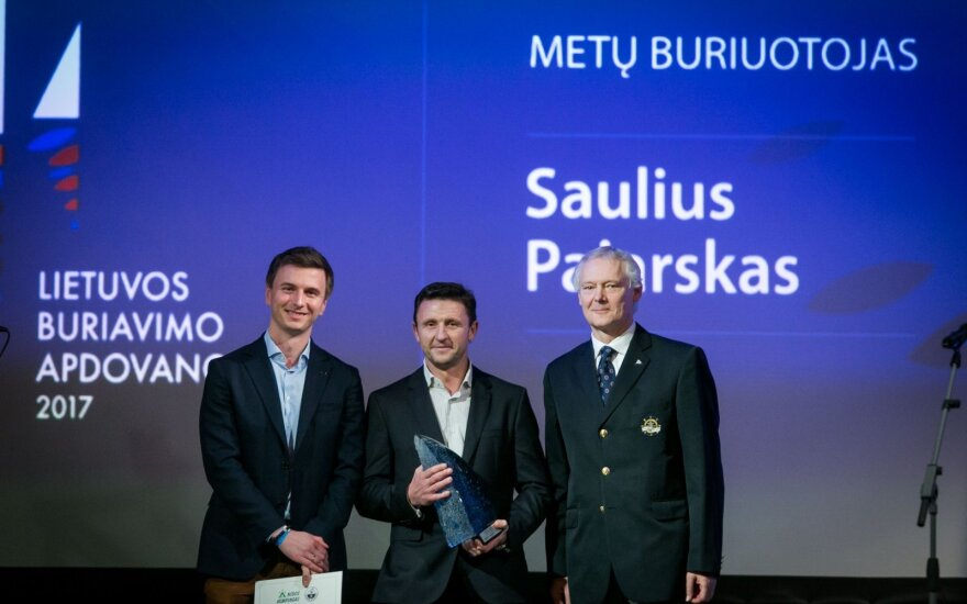 Lietuvos buriavimo apdovanojimai