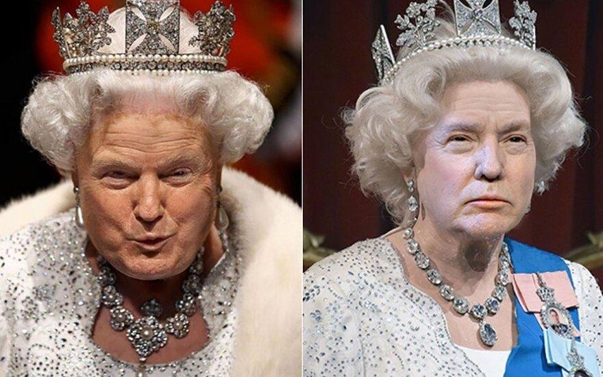 TrumpQueen nuotr.