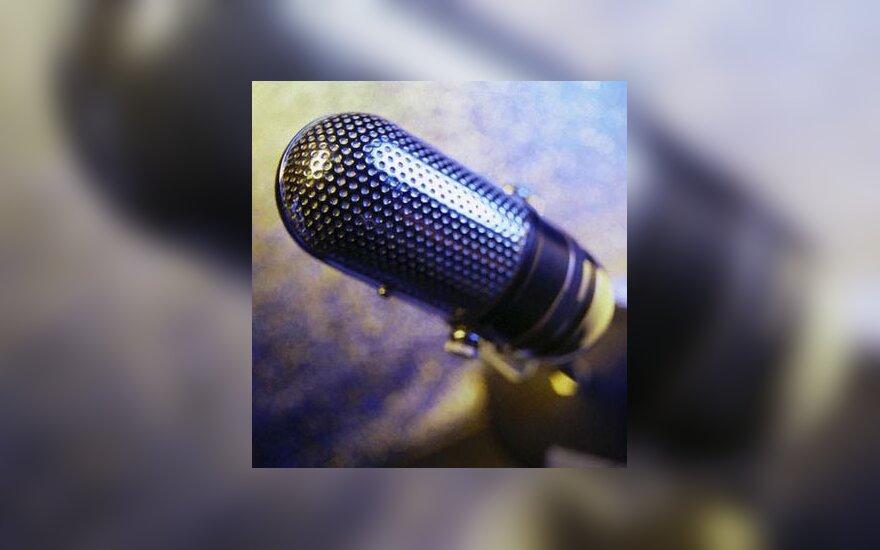 mikrofonas, garsas