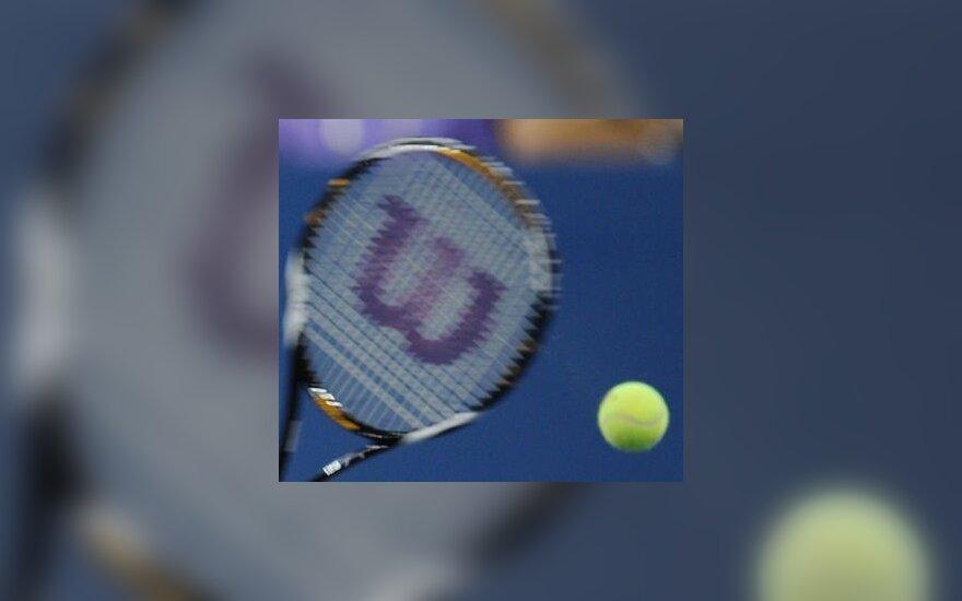 Jaunių teniso turnyre Šiauliuose lietuviai tęsia kovas tik dvejetų varžybose