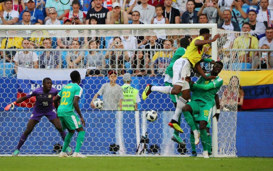 Kolumbija prarado Rodriguezą, bet iškovojo pirmą vietą grupėje