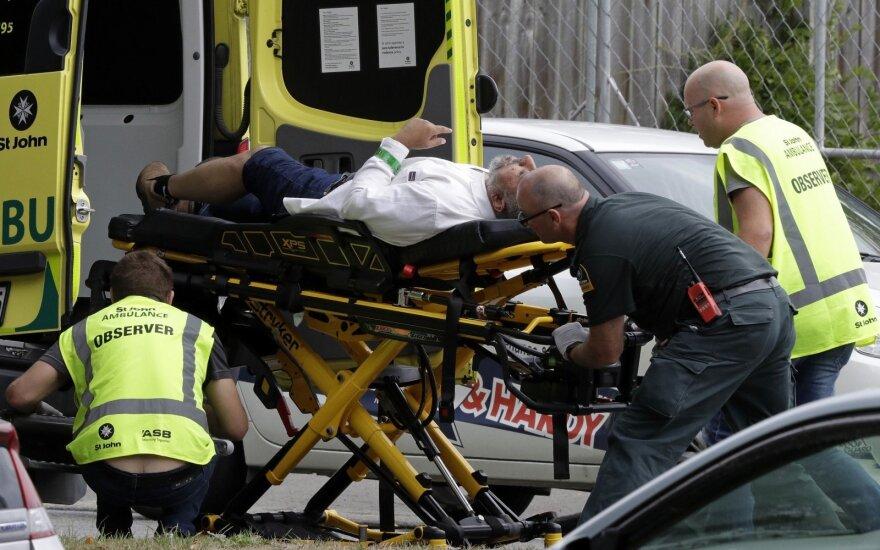 Išpuolį Naujojoje Zelandijoje išgyvenęs, tačiau žmonos netekęs musulmonas teigia atleidęs žudikui