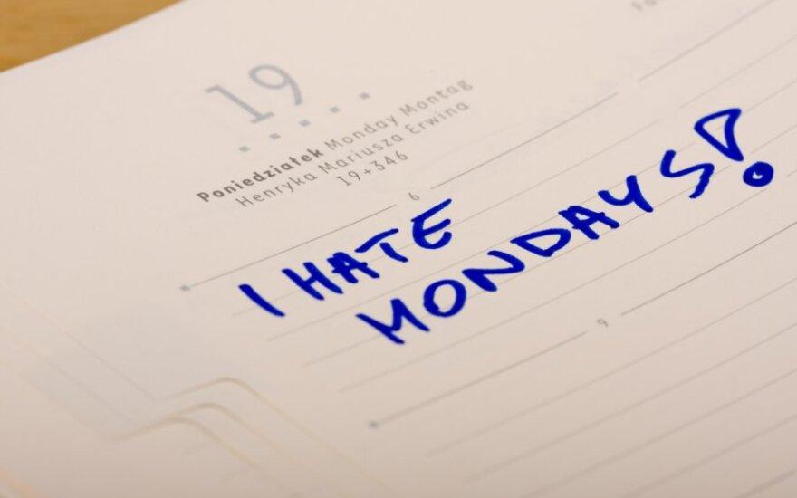 Ką aš manau apie pirmadienius?