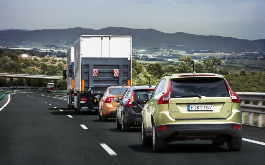 Volvo SARTRE projektas