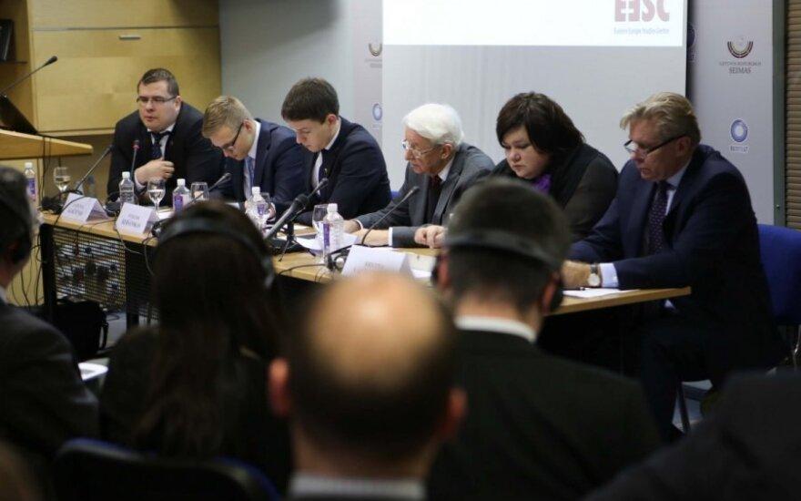 Laurynas Kasčiūnas, Vytautas Keršanskas, Linas Kojala, Benediktas Juodka, Kristina Vaičiūnaitė, Audronius Ažubalis