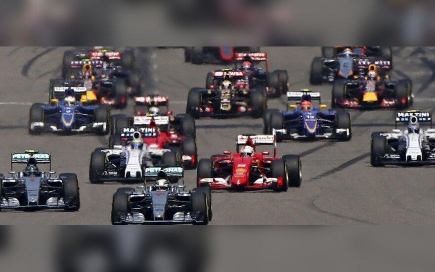 """""""Formulės-1"""" etapas Kinijoje"""