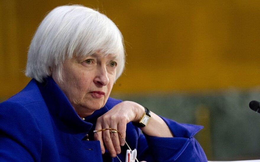 D. Trumpas kandidatą į J. Yellen vietą veikiausiai paskelbs ketvirtadienį