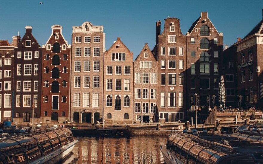 Norintieji pamatyti Amsterdamą turės susimokėti
