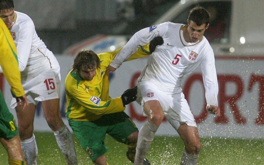 Lietuvos ir Serbijos rungtynės 2010-aisiais