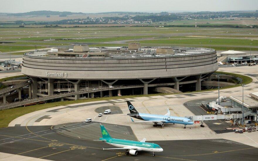 Prancūzija atsakinga už trečdalį visų Europoje atidėtų skrydžių