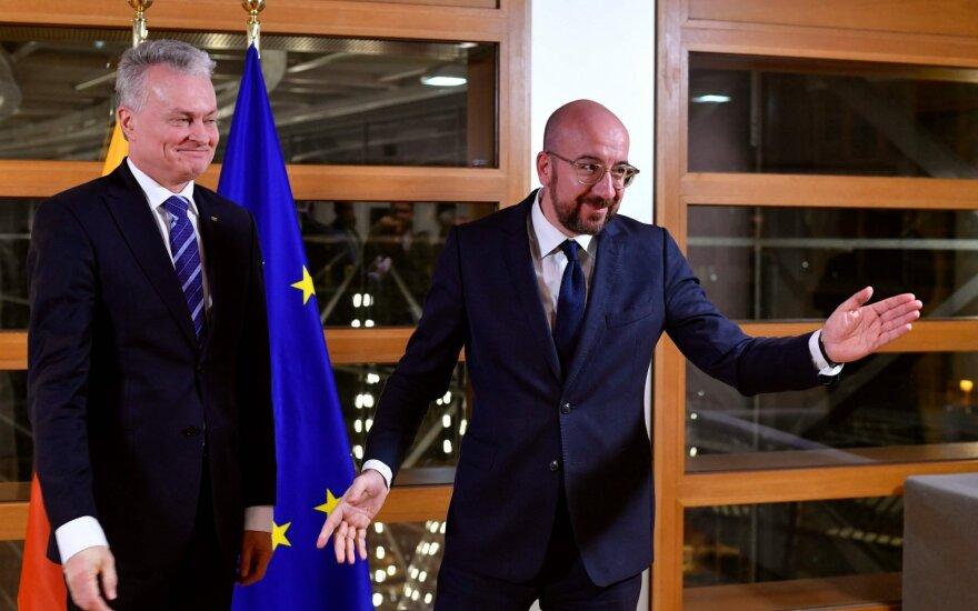 Nausėda apie kritiką dėl ES biudžeto derybų: vienas dirba, o penki žiūri ir aiškina