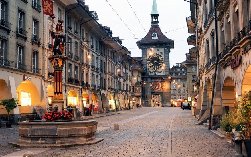 Šveicarijos sostinė seka Vilniaus pavyzdžiu