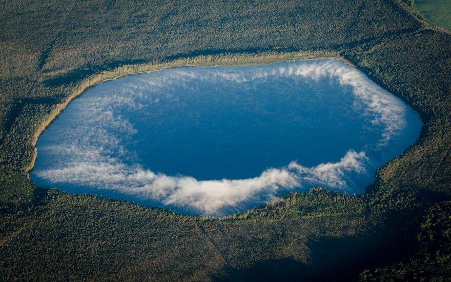 Pasigrožėkite Lietuvos vaizdais iš 6 kilometrų aukščio