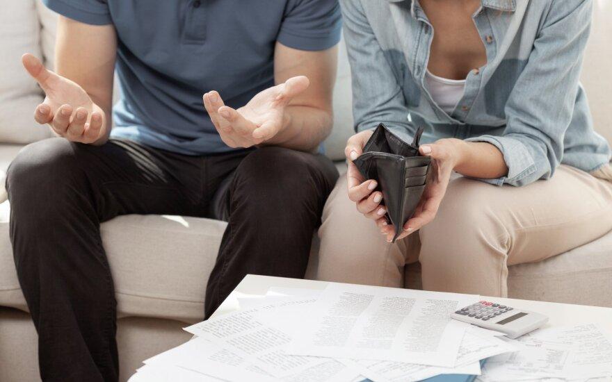 Pora turi išlaikyti didelę šeimą.