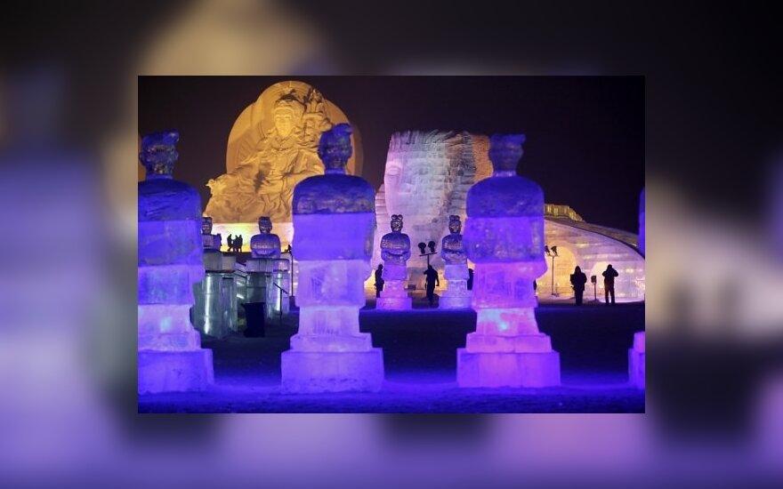 Ledo skulptūrų festivalis Kinijoje