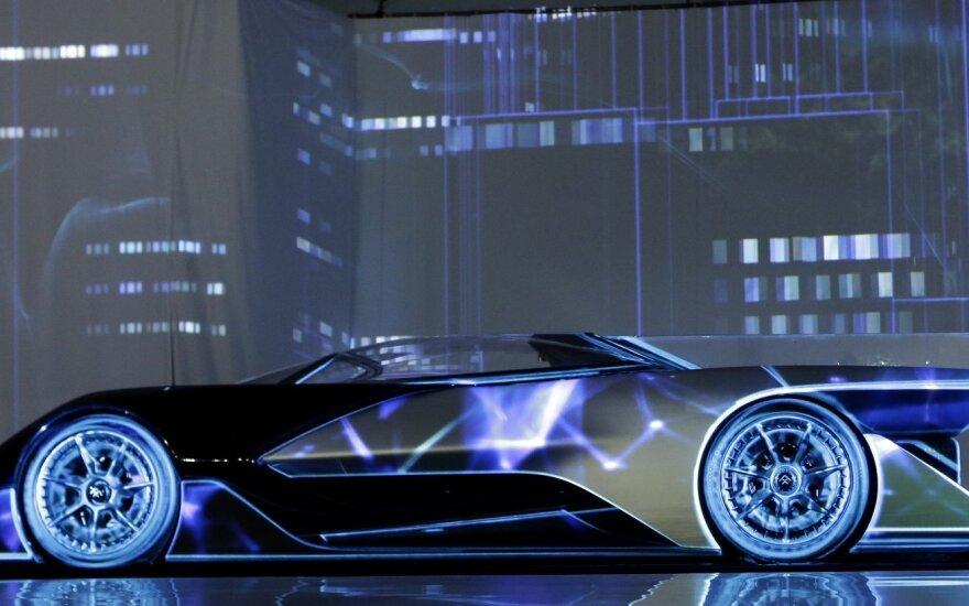 """""""Faraday Future"""" žadėjo gaminti įspūdingus elektromobilius"""