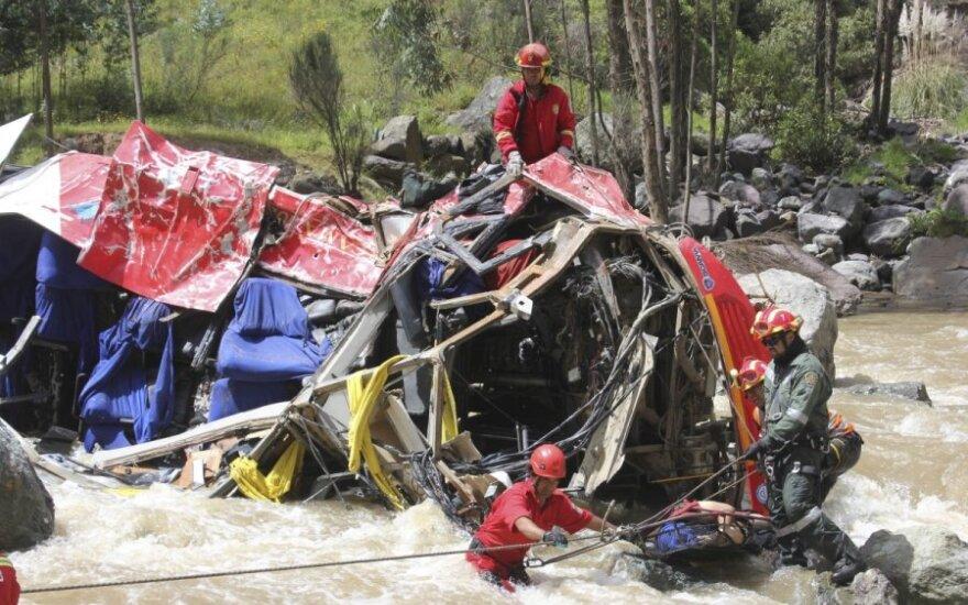 Peru autokatastrofa