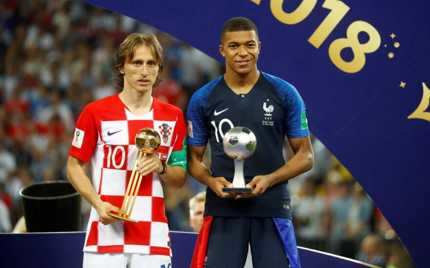 Paguoda Kroatijai: geriausias čempionato žaidėjas – Modričius