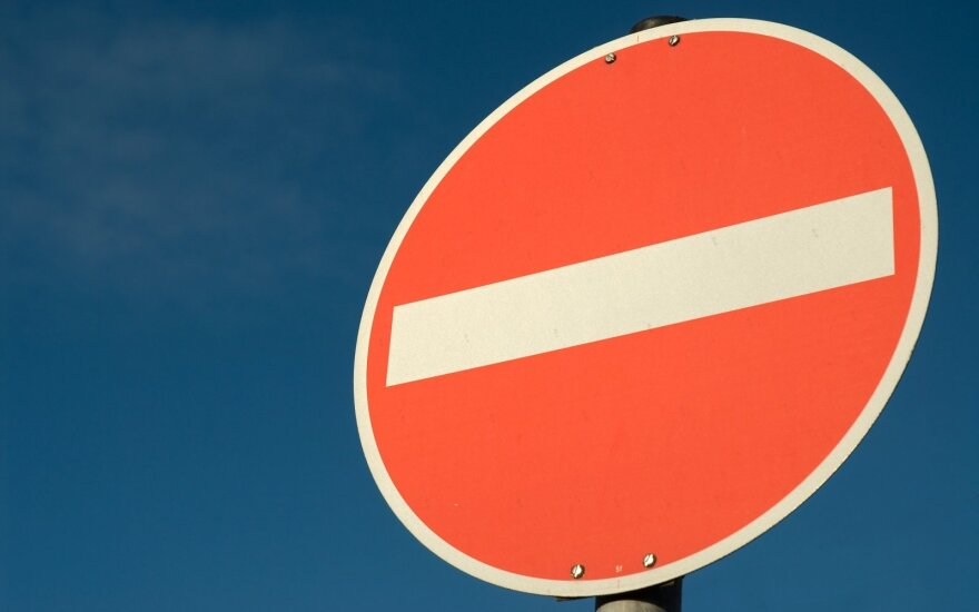 Vieną Vilniaus senamiesčio gatvę vairuotojams teks kurį laiką aplenkti