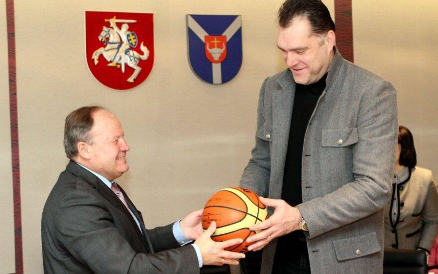 Valerijus Makūnas ir Arvydas Sabonis