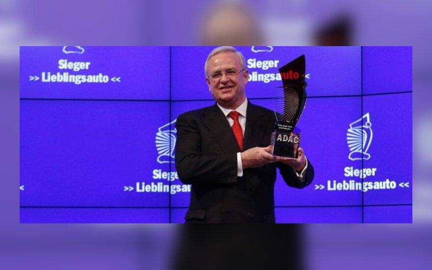 Volkswagen vadovas Martinas Winterkornas