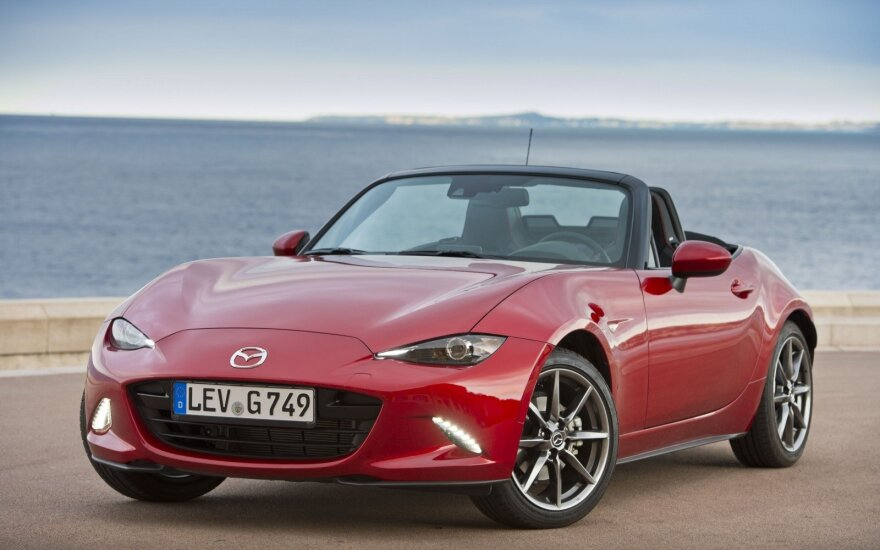 "Pernai WCOTY rinkimus laimėjo ""Mazda MX-5"""