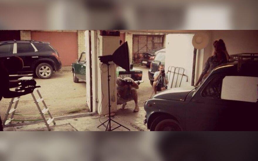 Garažas Klaipėdoje paverstas menine erdve