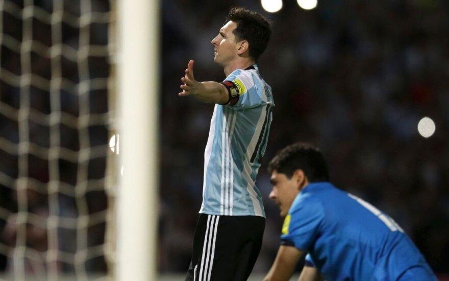 L. Messi dovana – didžiausias įžeidimas per Egipto istoriją?