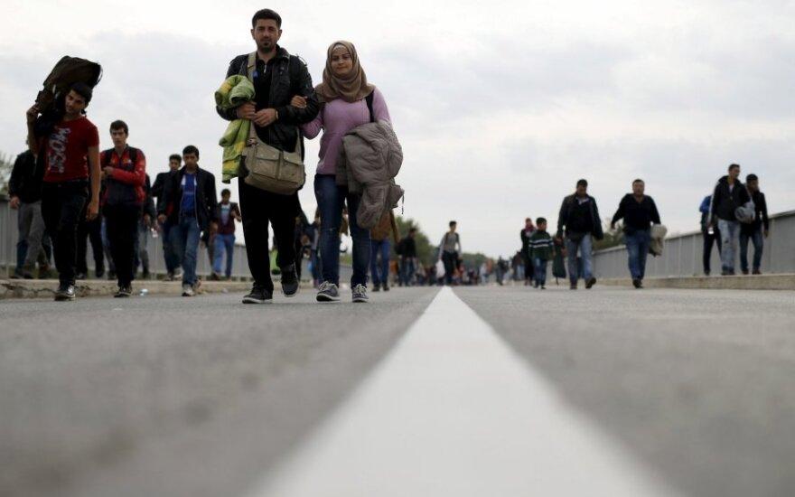 Pirmieji: į Lietuvą perkels 70 pabėgėlių iš Turkijos