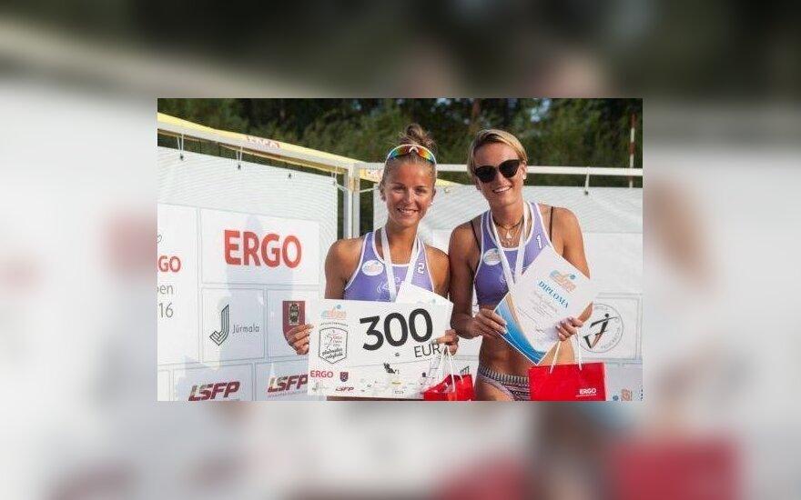 Monika Povilaitytė ir Karolė Virbickaitė
