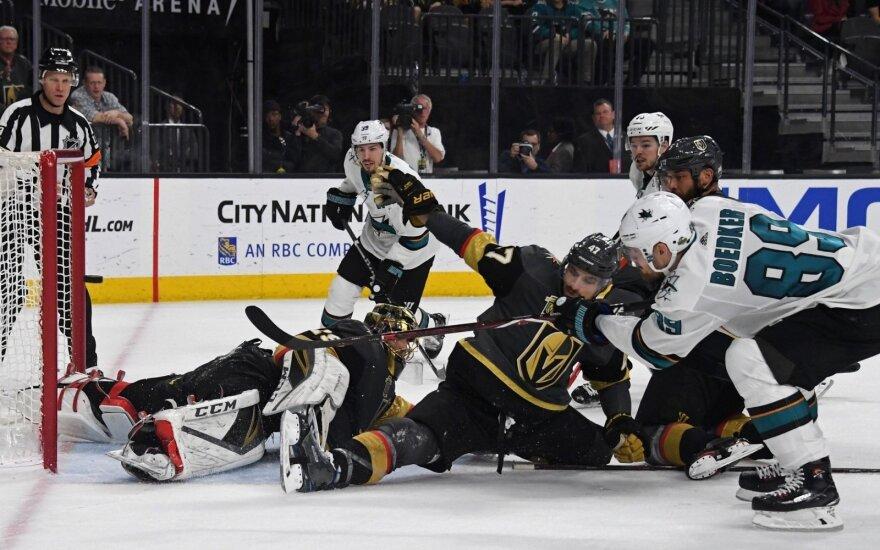 NHL naujokai – ant Vakarų konferencijos finalo slenksčio