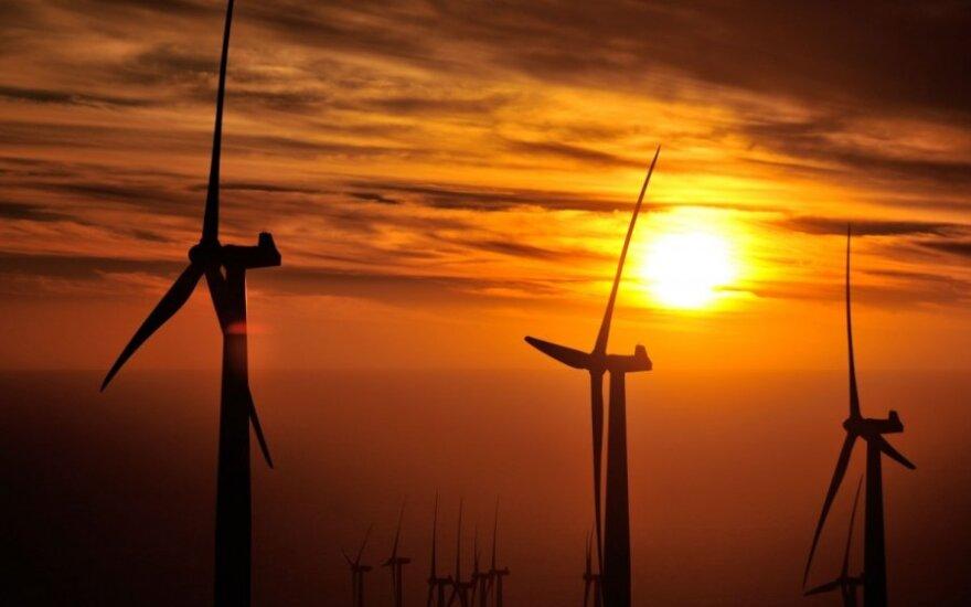 Vėjo jėgainės - rimtas projektas ne tik savamoksliams, bet ir gamintojam