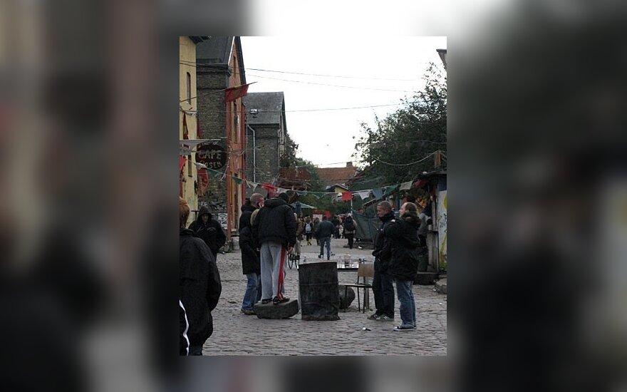 Kopenhagoje į kavinę įmetė granatą