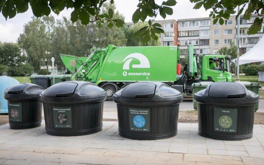 Požeminis atliekų konteineris