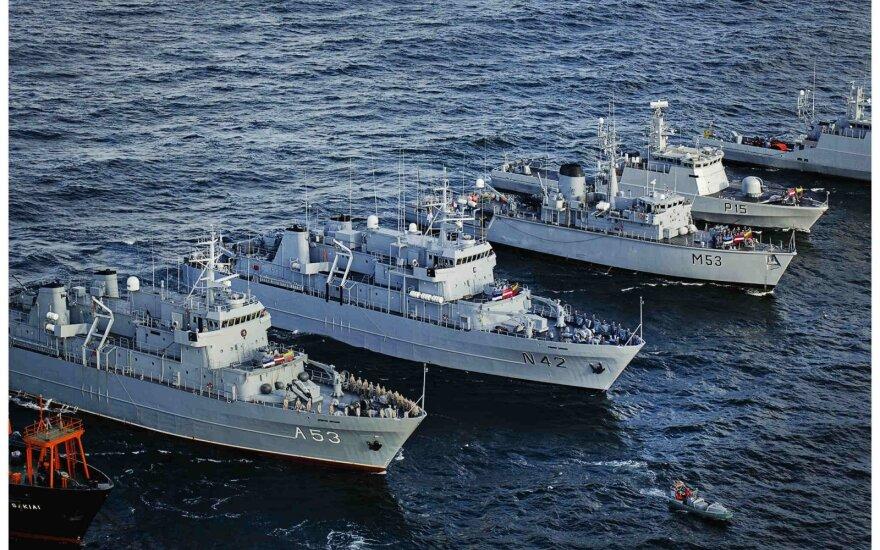 Karinių jūrų pajėgų archyvo nuotrauka