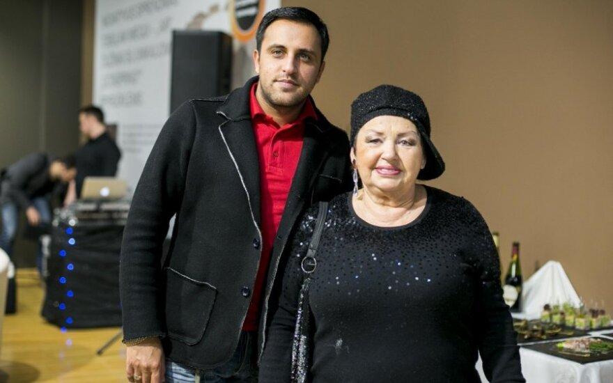 Radžis ir Birutė Dambrauskaitė