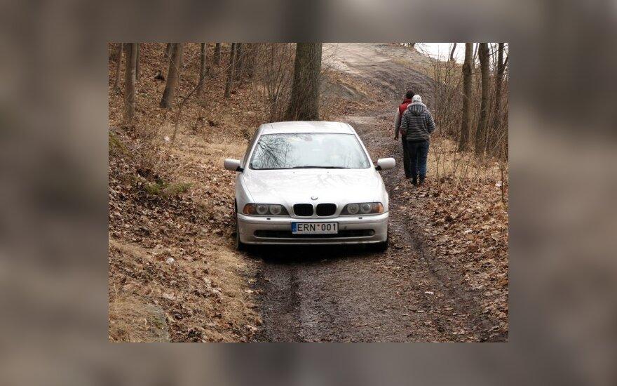 Kaune, prie Pažaislio vienuolyno. 2010-03-28, 15.55 val.