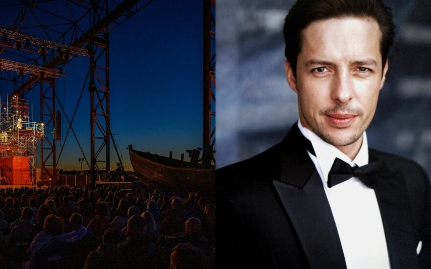 """Operos solistas Rihards Mačanovskis atliks Olando partiją """"Skrajojančiame olande"""" (DELFI montažas / M. Aleksos nuotr. ir asm. archyvas)"""