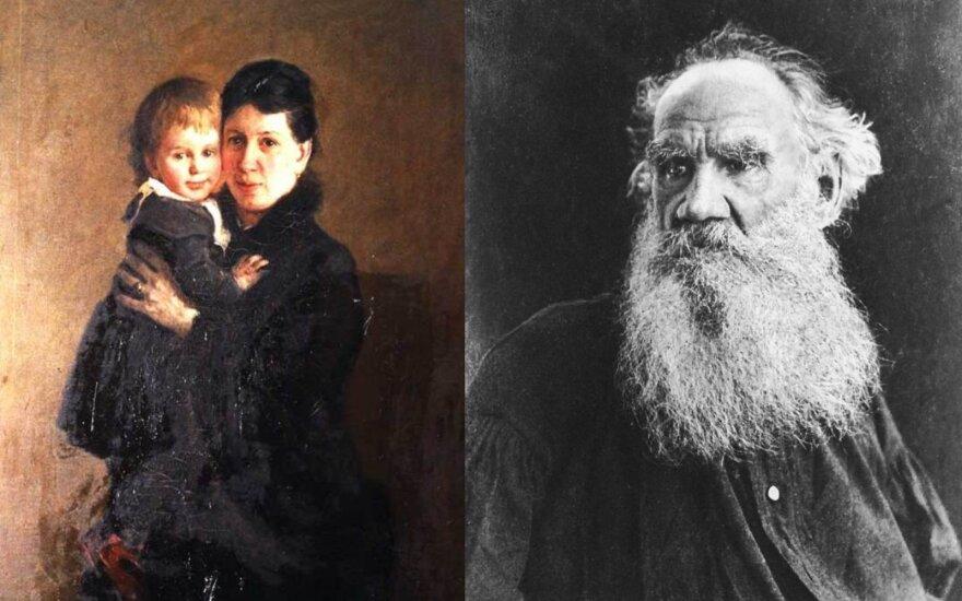 Levas Tolstojus ir Sofija Bers