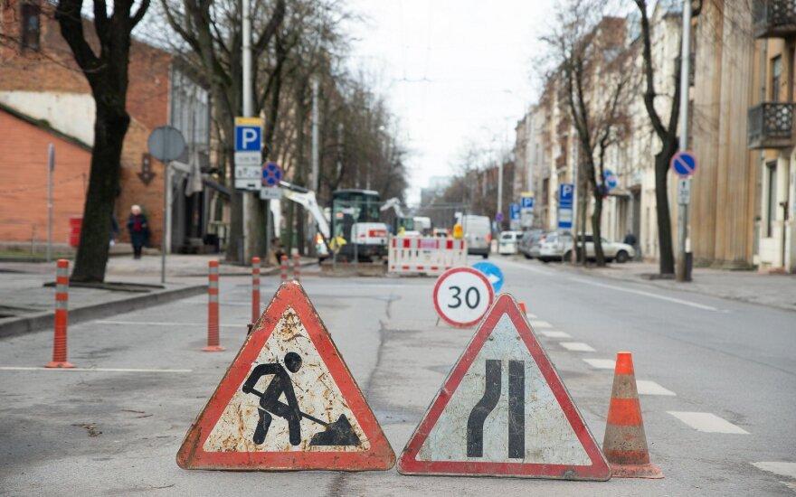 Kaunas neįprastai anksti skelbia gatvių tvarkymo sezono pradžią