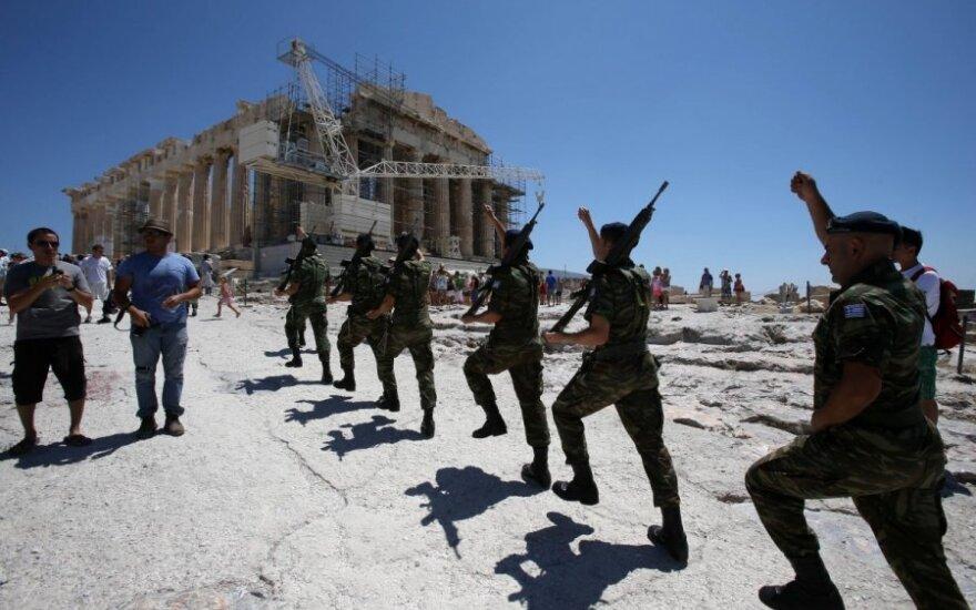 Slapta Vokietijos banko ataskaita: situacija Graikijoje ne tokia, kokia skelbiama
